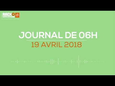 Le journal de 06H00 du 19 avril 2018- Radio Côte d'Ivoire