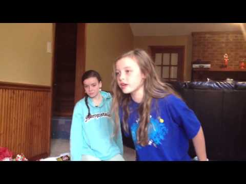 Crazy Christmas girls One Direction gift reaction