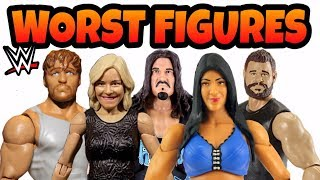 WORST WWE Action Figures EVER!!! Mattel Wrestling figures