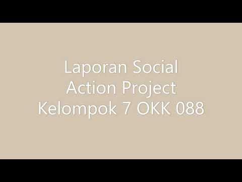Laporan Kegiatan Social Project Kelompok 7 Youtube
