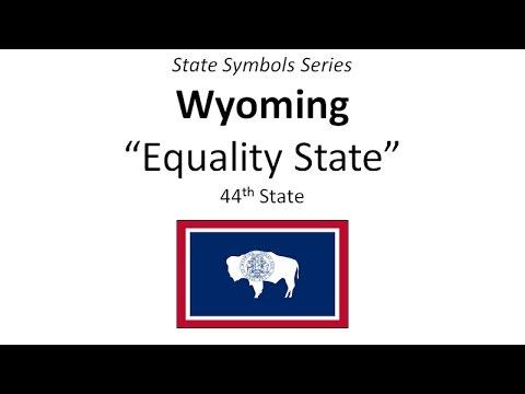 State Symbols Series - Wyoming
