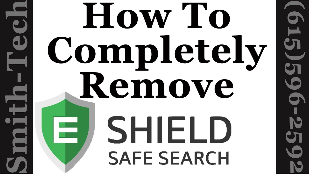 How To Completely Remove eShield From Internet Explorer
