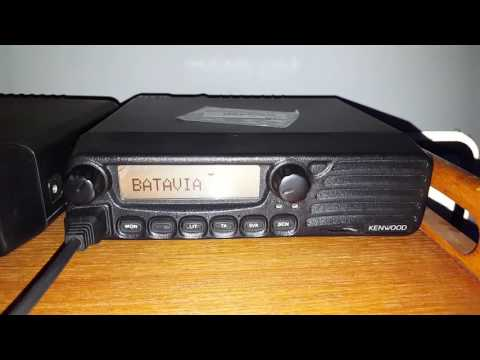 Kenwood TK-8150 - School Bus Radio Chatter - Illinois Central Programming