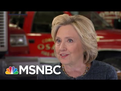 Hillary Clinton On The Role Of Women In Combat | MSNBC