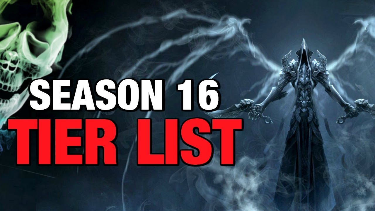 Diablo 3 Season 16 Class Build Guides and Tier List Patch 2 6 4