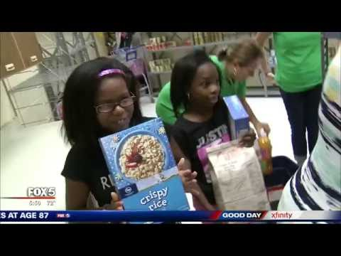 McCleskey Middle's Food Pantry