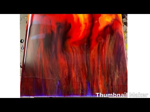 RESIN ART_PAINTING_EPOXY ART HOW TO