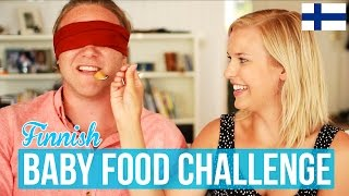 finnish baby food challenge w cat peterson i dave cad