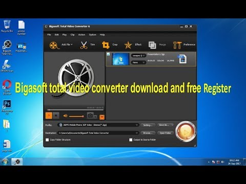 register total video converter