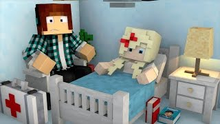 Minecraft: LYDIA ESTÁ NO HOSPITAL ! - ( Cirurgia Minecraft )
