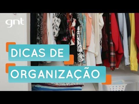 Dicas para organizar o seu armário | Organização | Santa Ajuda | Micaela Góes