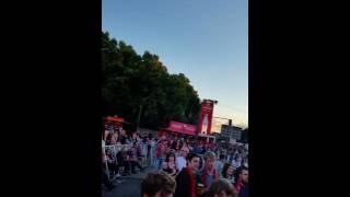 Berlin fanmeile em Frankreich gegen island 2016