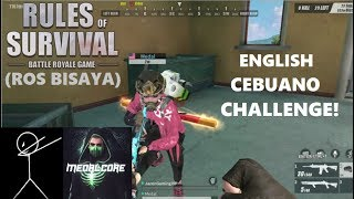 """""""ENGLISH/CEBUANO"""" CHALLENGE! DUO with Medalcore (ROS BISAYA)"""