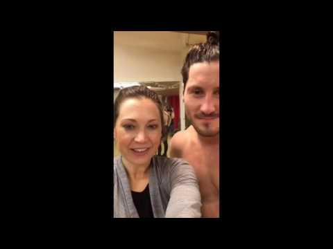 Periscope Replay Ginger Zee & Val Q & A Pecs Manbun Hilarious