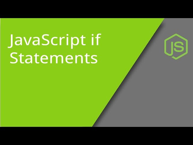 Basic JavaScript if Statements