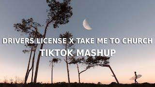 Drivers License x Take Me To Church (TikTok FULL mashup) Olivia Rodrigo x Hozier