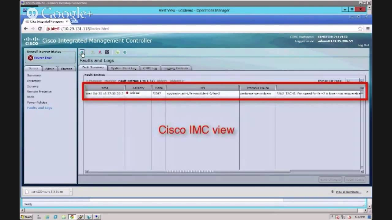 UCS Tech Talk: Demystifying Monitoring for Cisco UCS Manager and Standalone  C Series Servers