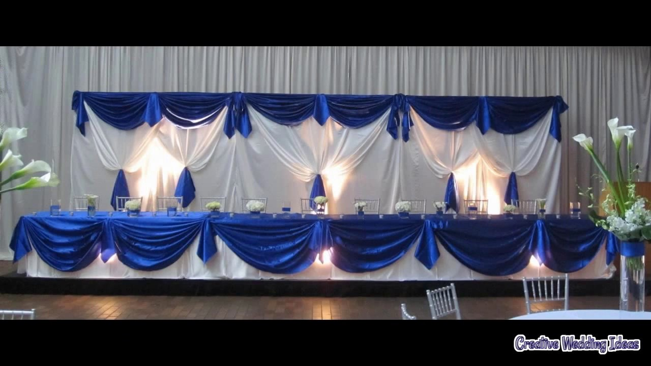 royal wedding decorations wedding decoration royal blue 7171