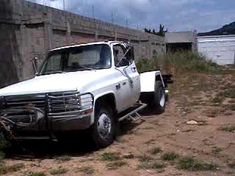 Pick Up Chevrolet 1982 3 Ton Youtube