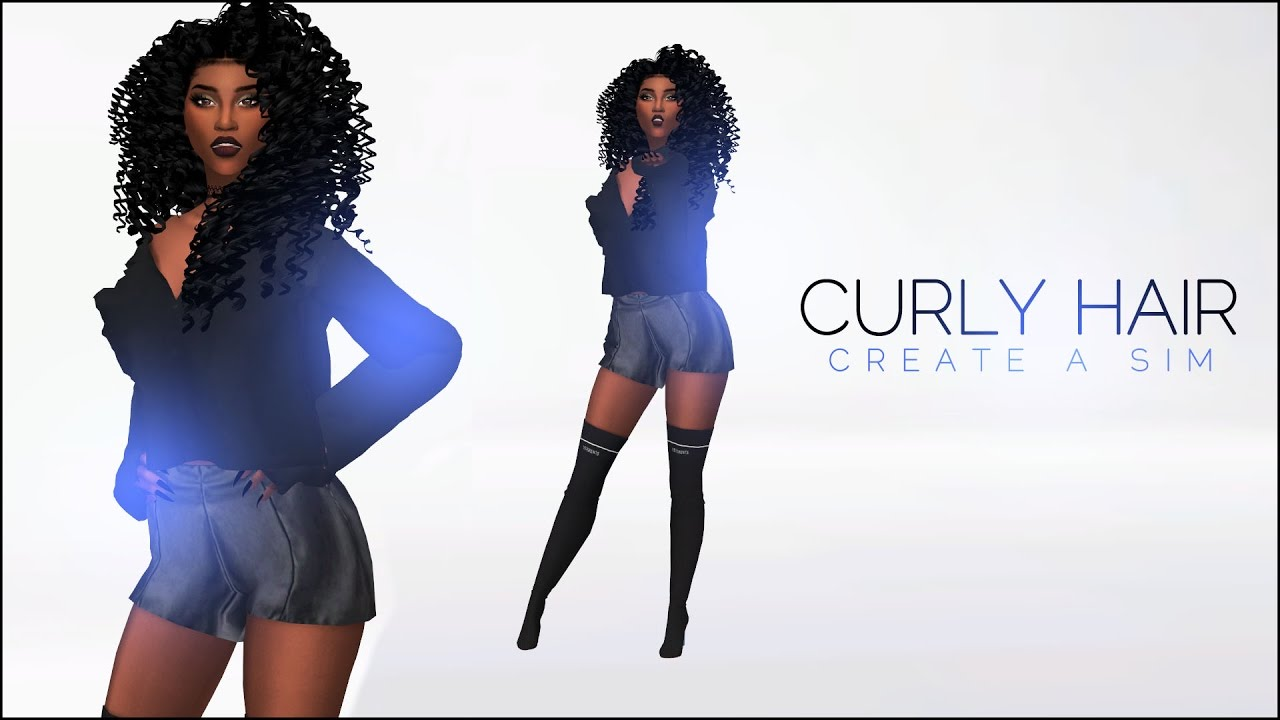 The Sims 4 Create A Sim Where To Get Curly Hair
