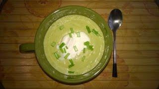 Кабачковый суп-пюре со сливками в мультиварке