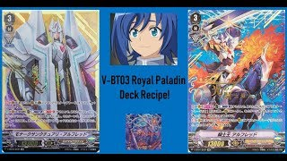 VG ShiHai's Post V-BT03 Royal Paladin Deck Recipe