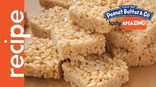 Peanut Butter Crispy Rice Treats Recipe
