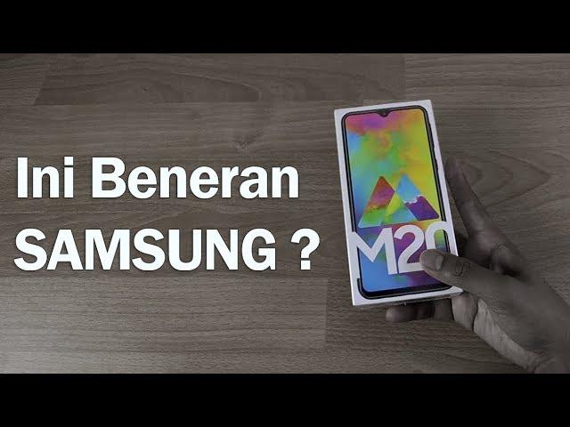 Unboxing Samsung Galaxy M20 (Resmi Di Indonesia)