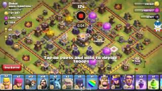 Clash of clans nyerang th 11