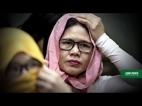 Overseas Filipino workers arrive in Manila amid Kuwait ban