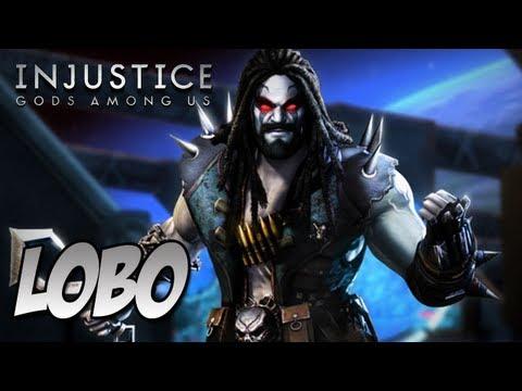 Injustice Gods Among Us  Personagem Secreto LOBO