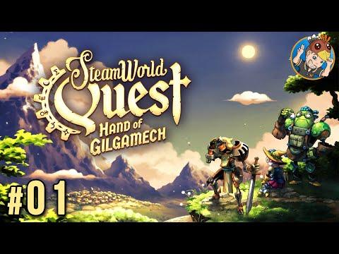 STEAMWORLD QUEST : Un RPG Tellement Rafraîchissant (Difficulté Légende) | Let's Play FR #01