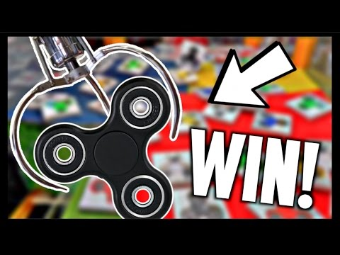 ☆Winning Fid Spinners From The Claw Machine Arcade Crane Game