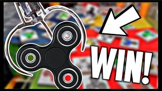 ★Winning Fidget Spinners From The Claw Machine!!! Arcade Crane Game Filled With Fidget Spinner Toys!