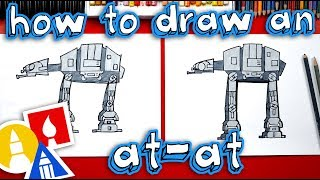 How To Draw An AT-AT Walker From Star Wars