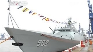 Chinese navy takes delivery of new stealth frigate