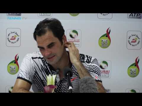 Federer Reflects On Early Dubai Exit