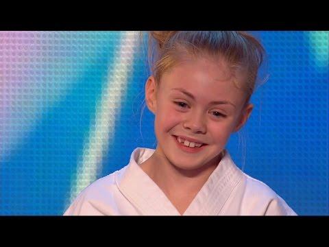 Jesse-Jane McParland - Britain's Got Talent 2015 Audition week 2