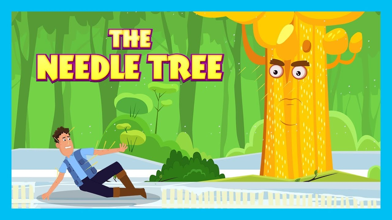 THE NEEDLE TREE | STORIES FOR KIDS | KIDS HUT | MORAL STORIES