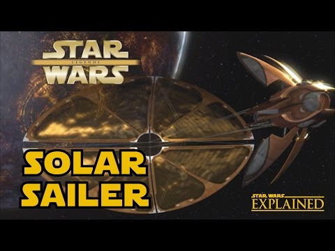 How Did Count Dooku's Solar Sailer Work - Star Wars Explained