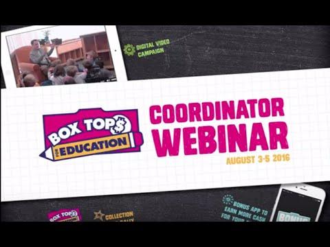 Coordinator Webinar