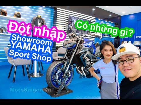 Đột Nhập Yamaha Sport Shop Cửa Hàng Bán Xe Moto MT-09 XSR900 Kèm Giá Bán