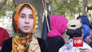 Afghan Girls Perform Street Show For Peace / تیاتر «صلح قدرت است» از سوی بانوان در کابل اجرا شد
