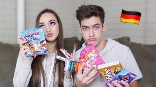 AMERICANS TRY GERMAN CANDY!