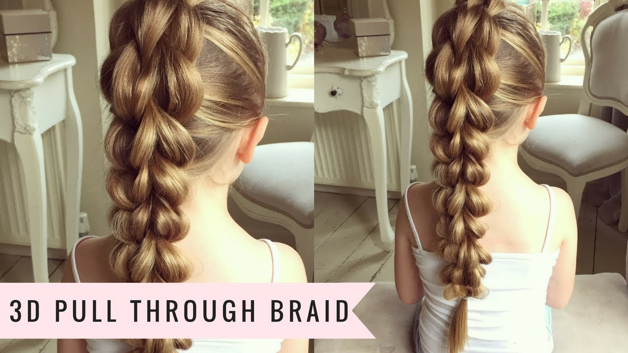 Hair Style 3d Image: The 3D Pull Through Braid By SweetHearts Hair