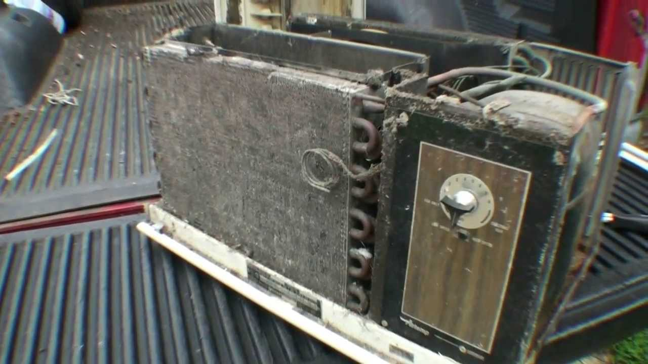 1967 Chrysler Airtemp Window Air Conditioner Part 1 Youtube