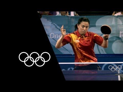 Wang Nan - 5-Time Table Tennis Champion   Olympic Records