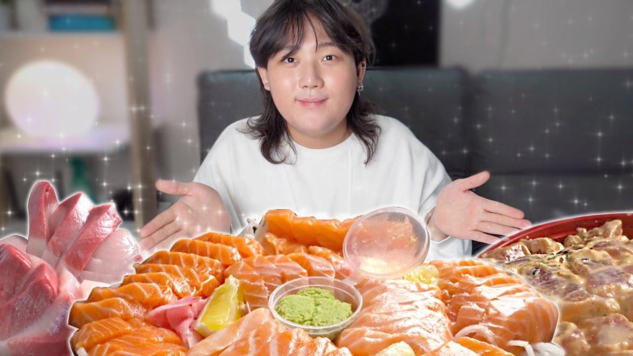 Mahilig ba kayo sa Sashimi? Tara kain 😋