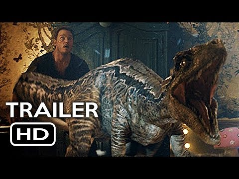 Jurassic World 2: Fallen Kingdom New International Trailer (2018) Chris Pratt Action Movie HD