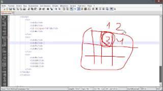 Объединение ячеек таблицы (Основы HTML и CSS)
